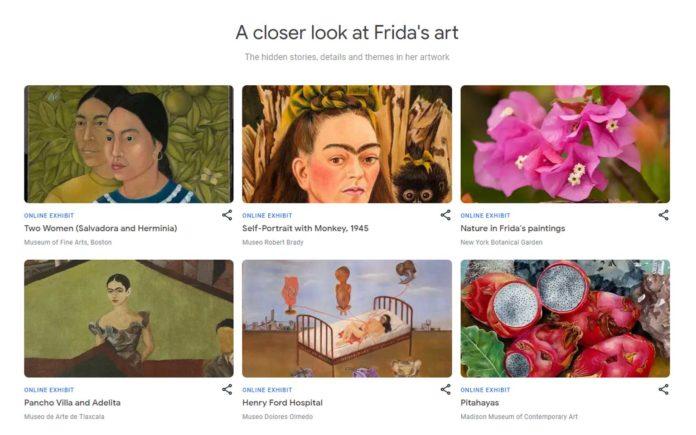 Frida Kahlo Virtual Exhibition